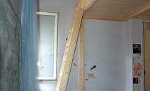 échelle accès mezzanine