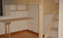 bureau sous mezzanine