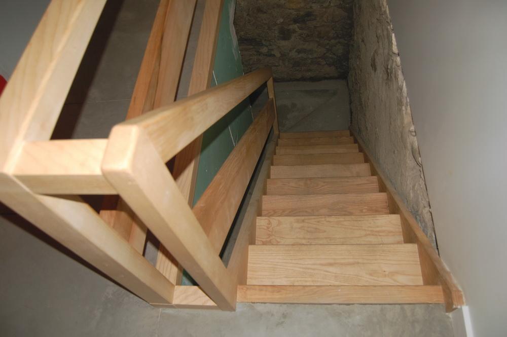K- montée d\'escaliers frêne - Jac Samson