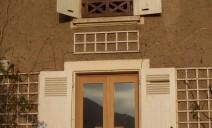 double porte-fenêtre chêne