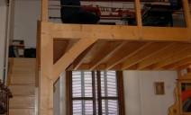 escalier et mezzanine pour bureau