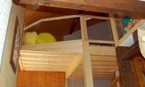 mezzanine 2 niveaux et pan coupé