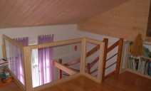 mezzanine, garde-corps verre