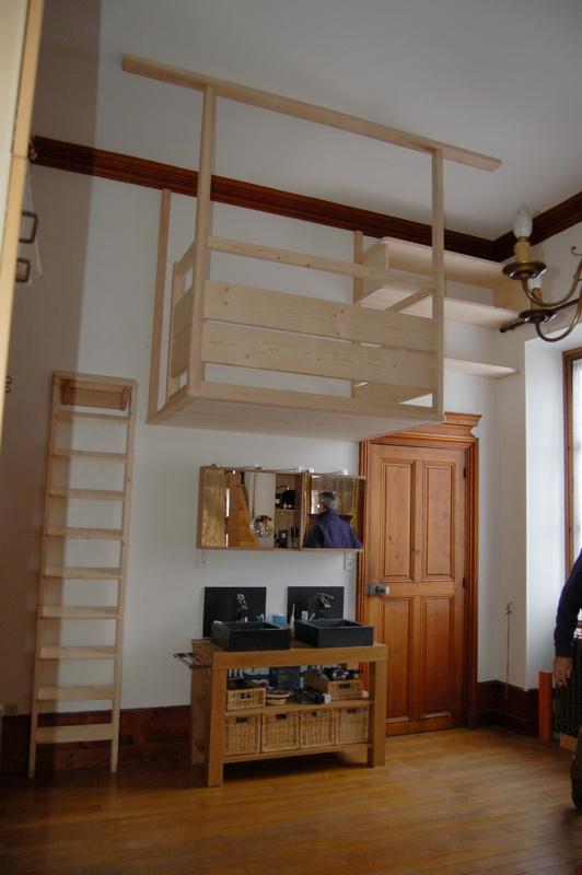 Escalier Lit Mezzanine