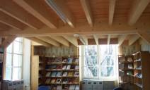 mezzanine structure fortes charges, bibliothèque
