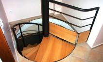 arrivée escalier hélicoïdal