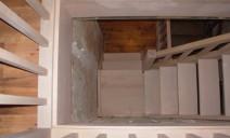 escalier quart de tour sur palier