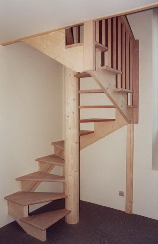 A escaliers pour espace limit jac samson for Comescalier pour combles
