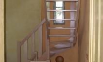 petit escalier 1/4 tour 3 marches balancées