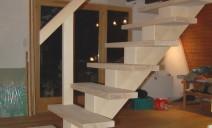 escalier CC frêne
