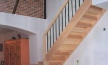escalier 1/4 tour spécial sur palier