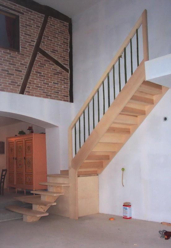 B- Escaliers 1/4 de tour - Jac Samson