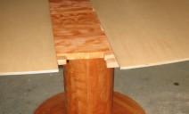 ralonge par dessus table ovale