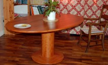 table elliptique poirier