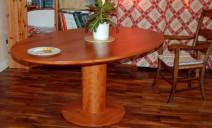 table elliptique poirier