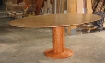 table ovale avec ralonge