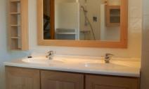plan vasque meubles chêne
