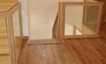 arrivée escalier