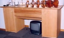 bureau frêne pour luthier