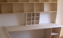 bureaux frêne et casiers