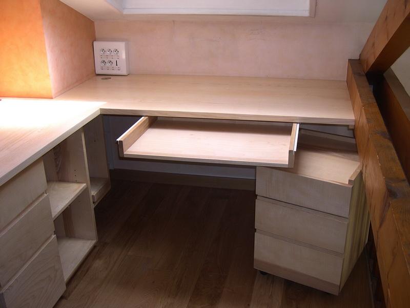 s bureaux agencement rangement jac samson. Black Bedroom Furniture Sets. Home Design Ideas