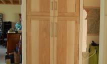 portes en massif modernes