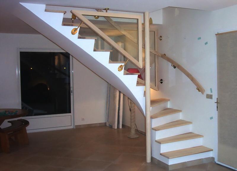 H habillages bois escaliers jac samson - Escalier prefabrique en beton prix ...