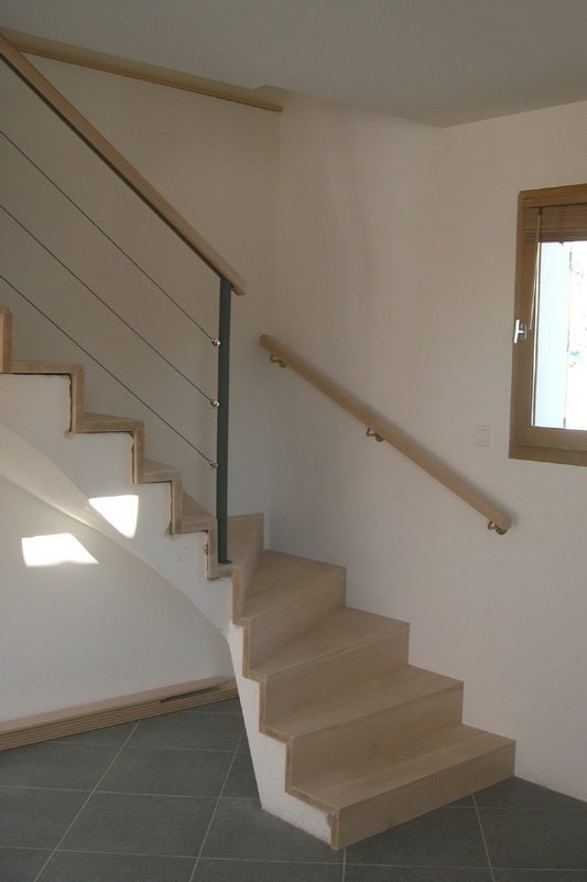 Habillage escalier b ton sans nez de 533 800 pixels escaliers pinterest for Escalier beton design