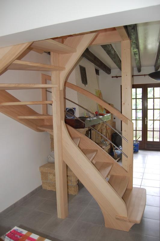 d2 escaliers 1 2 tour jac samson. Black Bedroom Furniture Sets. Home Design Ideas